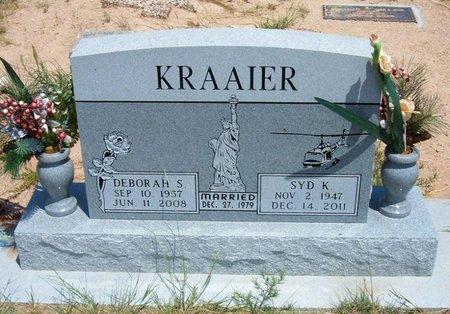 KRAAIER, DEBORAH S - Baca County, Colorado | DEBORAH S KRAAIER - Colorado Gravestone Photos