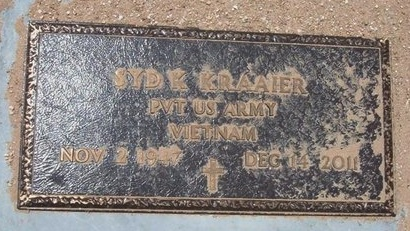 KRAAIER (VETERAN VIET), SYD K - Baca County, Colorado | SYD K KRAAIER (VETERAN VIET) - Colorado Gravestone Photos