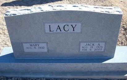 LACY, JACK ALBERT - Baca County, Colorado | JACK ALBERT LACY - Colorado Gravestone Photos