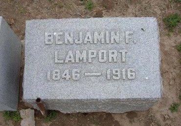 LAMPORT, BENJAMIN F - Baca County, Colorado | BENJAMIN F LAMPORT - Colorado Gravestone Photos