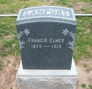 LAMPORT, FRANCIS ELMER - Baca County, Colorado | FRANCIS ELMER LAMPORT - Colorado Gravestone Photos
