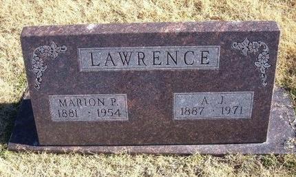 WEEKS LAWRENCE, MARION P - Baca County, Colorado | MARION P WEEKS LAWRENCE - Colorado Gravestone Photos