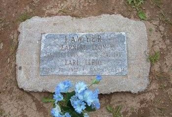 LAWYER, EARNEST LEON - Baca County, Colorado | EARNEST LEON LAWYER - Colorado Gravestone Photos