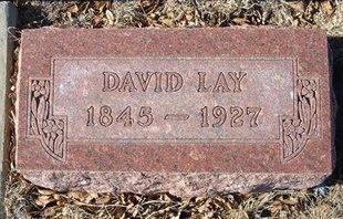 LAY, DAVID - Baca County, Colorado | DAVID LAY - Colorado Gravestone Photos