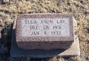 LAY, EULA VAUN - Baca County, Colorado   EULA VAUN LAY - Colorado Gravestone Photos