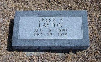 LAYTON, JESSIE AUDREY - Baca County, Colorado | JESSIE AUDREY LAYTON - Colorado Gravestone Photos