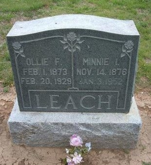 LEACH, MINNIE I - Baca County, Colorado | MINNIE I LEACH - Colorado Gravestone Photos