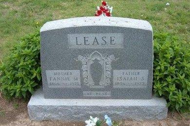 LEASE, ISAIAH SAMUEL - Baca County, Colorado | ISAIAH SAMUEL LEASE - Colorado Gravestone Photos