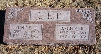 LEE, EUNICE D - Baca County, Colorado | EUNICE D LEE - Colorado Gravestone Photos