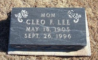LEE, CLEO F - Baca County, Colorado | CLEO F LEE - Colorado Gravestone Photos