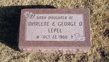 LEPEL, BABY DAUGHTER - Baca County, Colorado | BABY DAUGHTER LEPEL - Colorado Gravestone Photos
