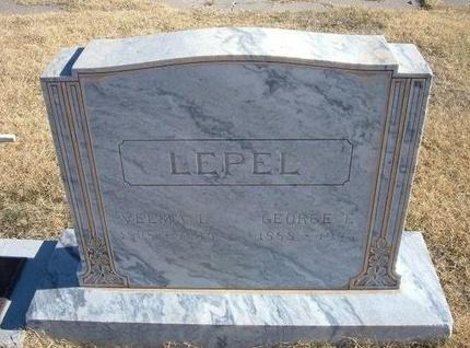 LEPEL, VELMA L - Baca County, Colorado   VELMA L LEPEL - Colorado Gravestone Photos