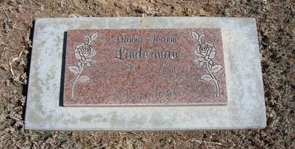 LINDERMAN, HANNAH JOANNE - Baca County, Colorado | HANNAH JOANNE LINDERMAN - Colorado Gravestone Photos