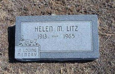 LITZ, HELEN M - Baca County, Colorado   HELEN M LITZ - Colorado Gravestone Photos