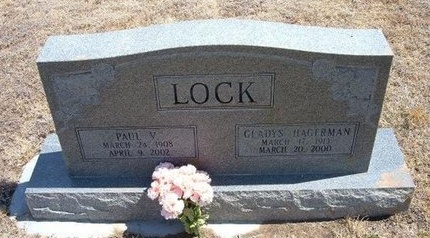 LOCK, PAUL VICTOR - Baca County, Colorado | PAUL VICTOR LOCK - Colorado Gravestone Photos