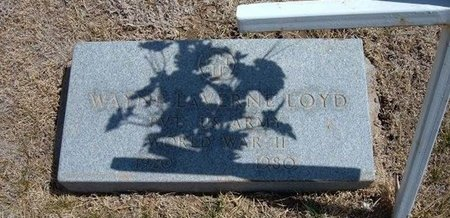 LOYD (VETERAN WWII), WAYNE LAVERNE - Baca County, Colorado   WAYNE LAVERNE LOYD (VETERAN WWII) - Colorado Gravestone Photos