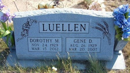 LUELLEN, GENE D - Baca County, Colorado | GENE D LUELLEN - Colorado Gravestone Photos