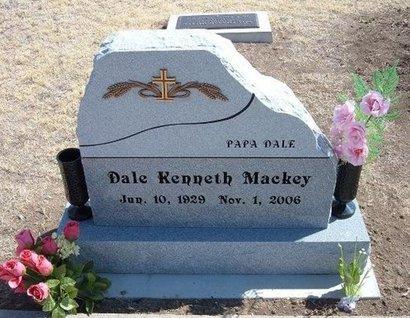 MACKEY, DALE KENNETH - Baca County, Colorado | DALE KENNETH MACKEY - Colorado Gravestone Photos