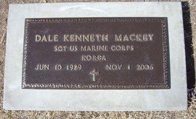 MACKEY (VETERAN KOR), DALE KENNETH - Baca County, Colorado | DALE KENNETH MACKEY (VETERAN KOR) - Colorado Gravestone Photos