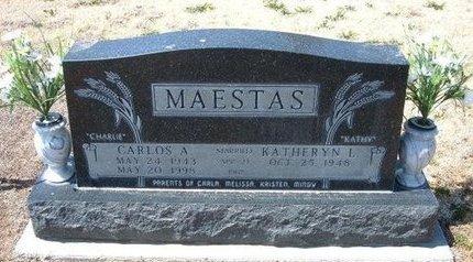 MAESTAS, CARLOS A - Baca County, Colorado | CARLOS A MAESTAS - Colorado Gravestone Photos