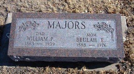 MAJORS, BEULAH ELIZABETH - Baca County, Colorado   BEULAH ELIZABETH MAJORS - Colorado Gravestone Photos