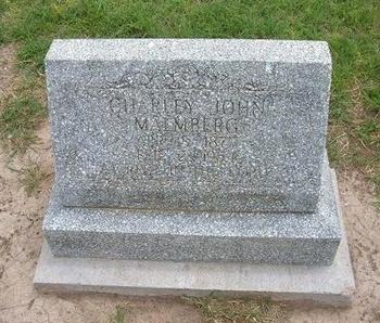 """MALMBERG, CHARLES JOHN, """"CHARLEY"""" - Baca County, Colorado   CHARLES JOHN, """"CHARLEY"""" MALMBERG - Colorado Gravestone Photos"""