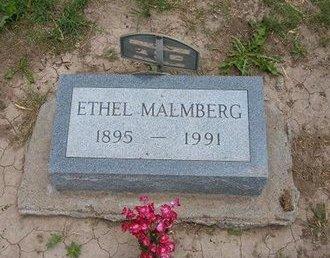 MALMBERG, ETHEL MAY - Baca County, Colorado   ETHEL MAY MALMBERG - Colorado Gravestone Photos