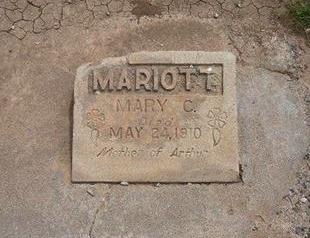 MARIOTT, MARY - Baca County, Colorado | MARY MARIOTT - Colorado Gravestone Photos