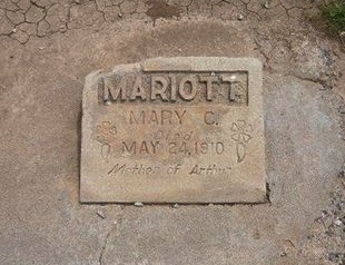 MARIOTT, MARY - Baca County, Colorado | MARY MARIOTT - Colorado Gravestone Photos