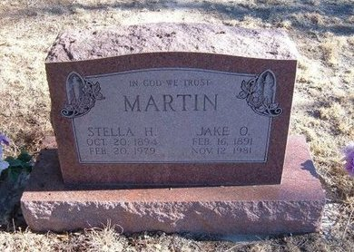 SHOCKLEY MARTIN, STELLA HAZEL - Baca County, Colorado | STELLA HAZEL SHOCKLEY MARTIN - Colorado Gravestone Photos