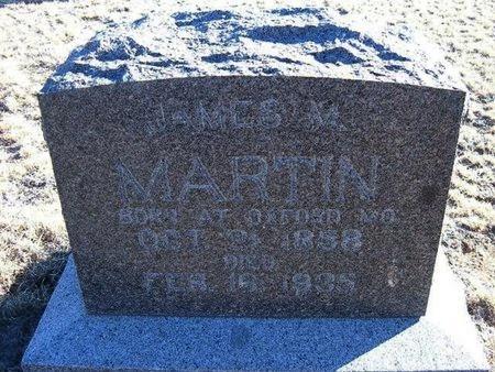 MARTIN, JAMES M - Baca County, Colorado   JAMES M MARTIN - Colorado Gravestone Photos
