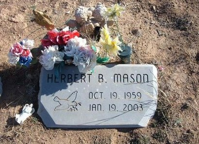 MASON, HERBERT B - Baca County, Colorado | HERBERT B MASON - Colorado Gravestone Photos