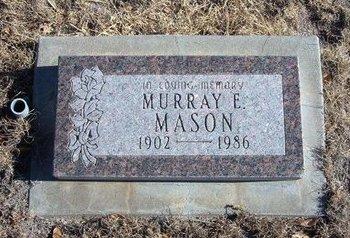 MASON, MURRAY EZRA - Baca County, Colorado | MURRAY EZRA MASON - Colorado Gravestone Photos
