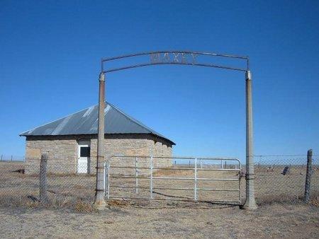 *MAXEY SIGN & OVERVIEW,  - Baca County, Colorado |  *MAXEY SIGN & OVERVIEW - Colorado Gravestone Photos