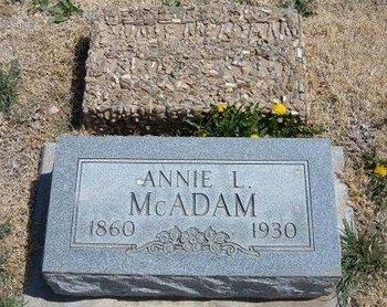 MCADAM, ANNIE L - Baca County, Colorado | ANNIE L MCADAM - Colorado Gravestone Photos