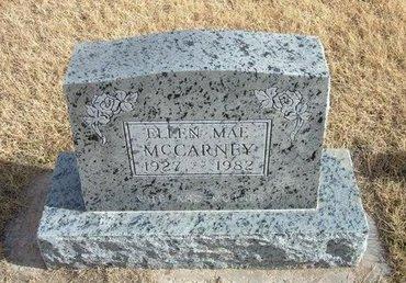 MCCARNEY, ELLEN MAE - Baca County, Colorado | ELLEN MAE MCCARNEY - Colorado Gravestone Photos