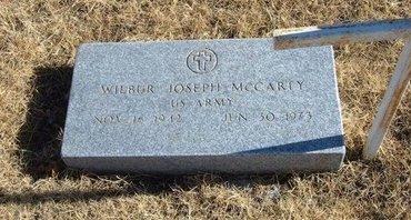 MCCARTY (VETERAN), WILBUR JOSEPH - Baca County, Colorado   WILBUR JOSEPH MCCARTY (VETERAN) - Colorado Gravestone Photos