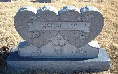 MCCAULEY, BESSIE L - Baca County, Colorado | BESSIE L MCCAULEY - Colorado Gravestone Photos