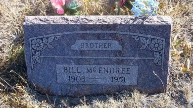 MCENDREE, BILL - Baca County, Colorado | BILL MCENDREE - Colorado Gravestone Photos
