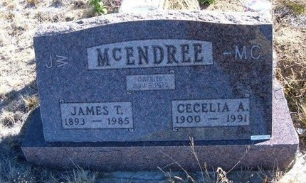 MCENDREE, CECELIA A - Baca County, Colorado | CECELIA A MCENDREE - Colorado Gravestone Photos