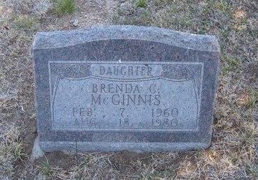 MCGINNIS, BRENDA C - Baca County, Colorado | BRENDA C MCGINNIS - Colorado Gravestone Photos