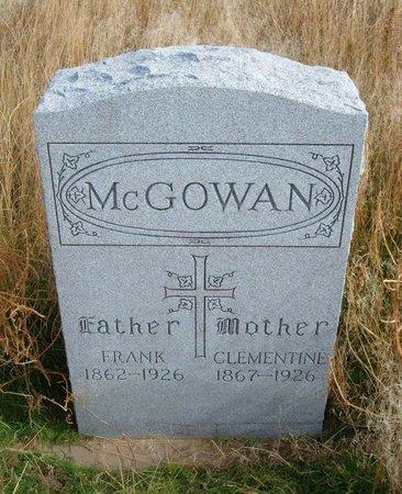 MCGOWAN, CLEMENTINE - Baca County, Colorado   CLEMENTINE MCGOWAN - Colorado Gravestone Photos