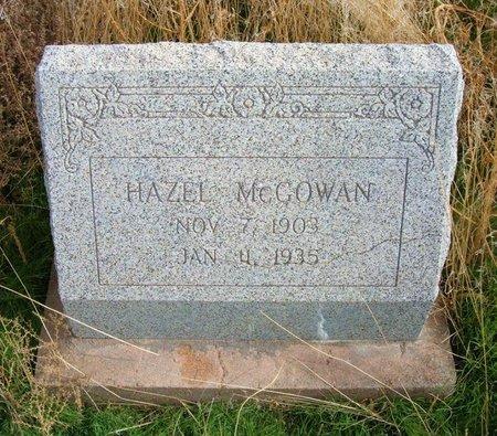 MCGOWAN, HAZEL - Baca County, Colorado | HAZEL MCGOWAN - Colorado Gravestone Photos