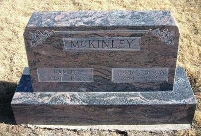 MCKINLEY, FAY EVA - Baca County, Colorado | FAY EVA MCKINLEY - Colorado Gravestone Photos