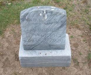 MCKINNIS, JAMES S - Baca County, Colorado | JAMES S MCKINNIS - Colorado Gravestone Photos