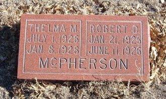 MCPHERSON, THELMA M - Baca County, Colorado   THELMA M MCPHERSON - Colorado Gravestone Photos
