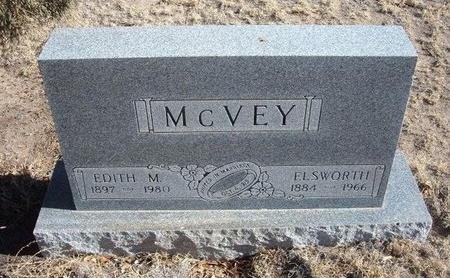 MCVEY, EDITH MATILDA - Baca County, Colorado | EDITH MATILDA MCVEY - Colorado Gravestone Photos