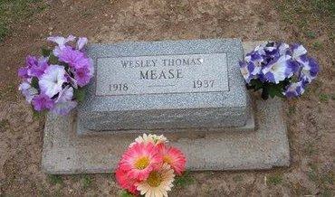 MEASE, WESLEY THOMAS - Baca County, Colorado   WESLEY THOMAS MEASE - Colorado Gravestone Photos