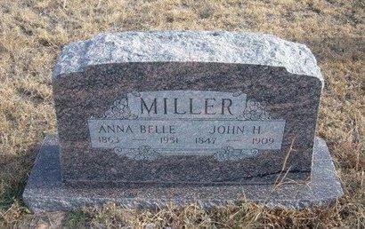 MILLER, ANNA BELLE - Baca County, Colorado | ANNA BELLE MILLER - Colorado Gravestone Photos