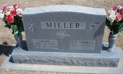 MILLER, JEAN - Baca County, Colorado | JEAN MILLER - Colorado Gravestone Photos